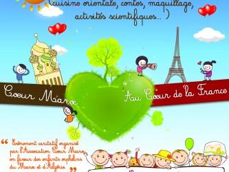 affiche évènement Coeur Maroc