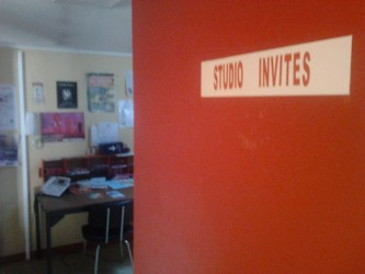 entrée studio