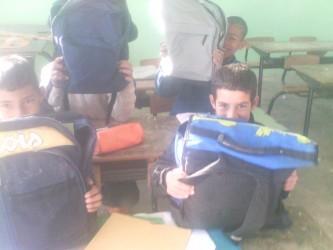 élèves de l'école de Mezguitame