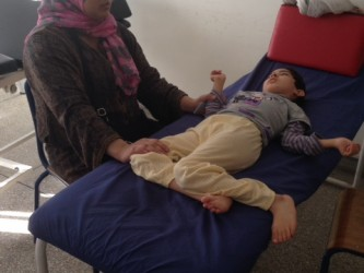 enfant handicapé à Casablanca