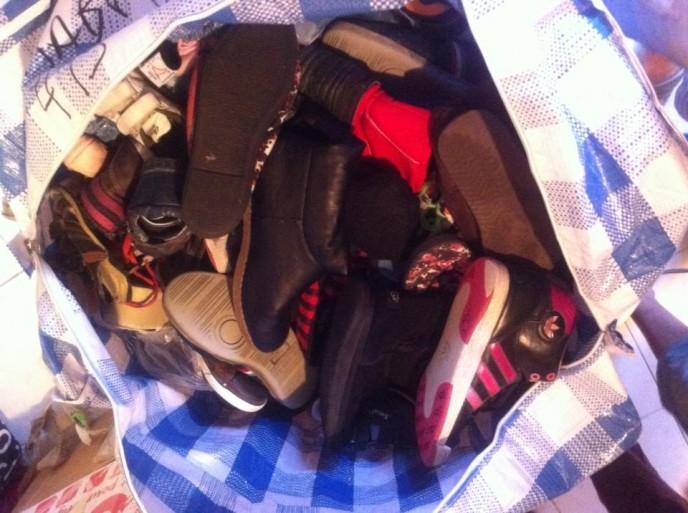 sac de chaussures antenne Paris