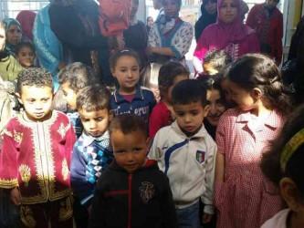 centre mohamed V, sakina groupe enfant