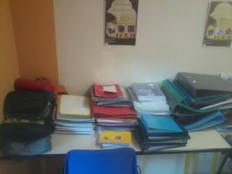 classeurs cahiers