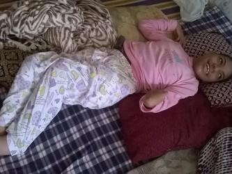 Houria Talal chez elle